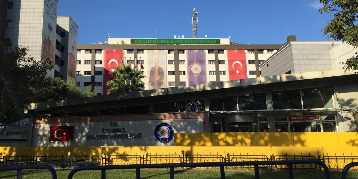 The Istanbul Security Directorate in Vatan Street where some of the cases of police torture and ill-treatment documented by Human Rights Watch took place.  © 2016 Human Rights Watch