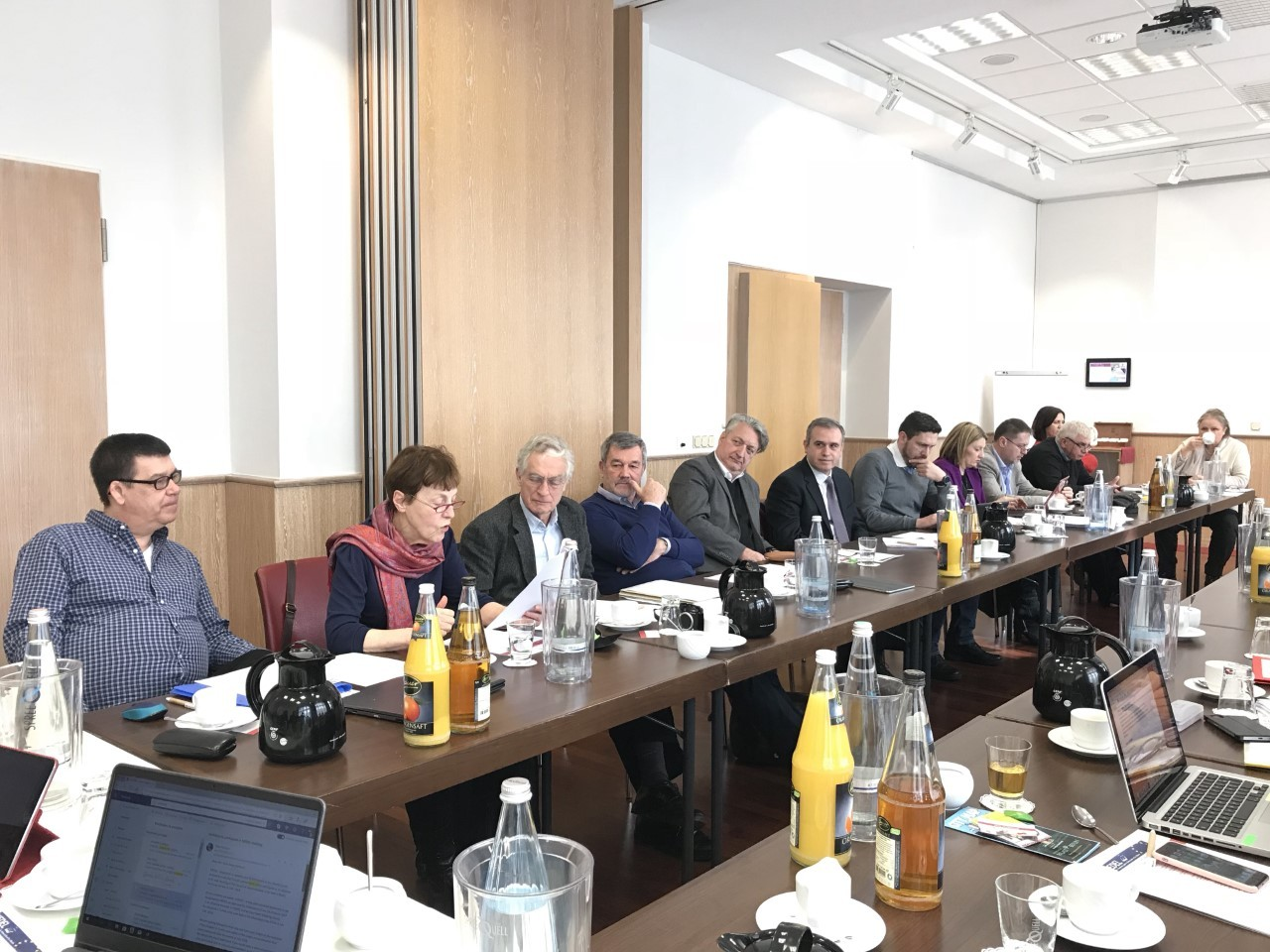 Conference and Council of Administration in Berlin